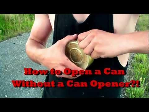 Ouvrir une bo te sans ouvre bo te - Comment ouvrir une boite de conserve ...