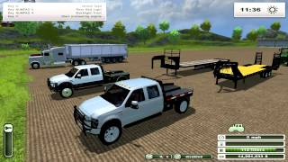 getlinkyoutube.com-FS2013 | BIG Tractors, Seeders, Trucks, Pickups, Harvester. Mod Spotlight Special