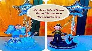 getlinkyoutube.com-Centros De Mesa (( Bautizo y Presentación ))