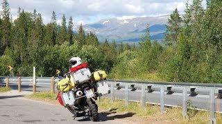 getlinkyoutube.com-Motorrad-Tour Norwegen (Köln - Nordkapp) - Teil 3 (Über den Polarkreis)