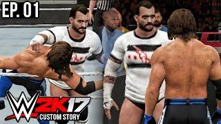 getlinkyoutube.com-WWE 2K17 Custom Story - CM Punk Returns & Joins Smackdown Live ( PS4 & XB1 )