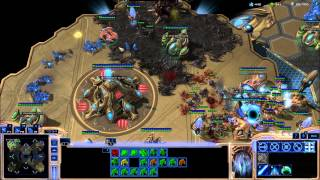 getlinkyoutube.com-Ranked Starcraft 2 Protoss.  Nydus Worms Are Annoying!