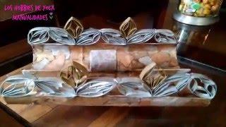 getlinkyoutube.com-Bandeja con rollitos de papel del baño. Los hobbies de Yola