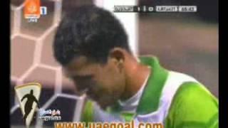 getlinkyoutube.com-حالة طرد نور صبري  حارس العراق في مباراة البحرين خليجي 19 مسقط