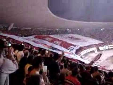 Flamengo - Maior  Bandeira do mundo - biggest flag ever
