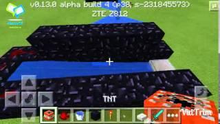 getlinkyoutube.com-How to build a TnT Cannon in Minecraft PE