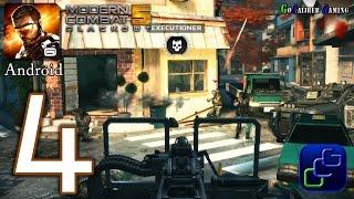 getlinkyoutube.com-Modern Combat 5: Blackout Android Walkthrough - Part 4 - Chapter 3: Downtown