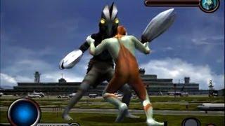 Ultraman PS2 (Story Mode Part 6) Ultraman vs Alien Baltan 2