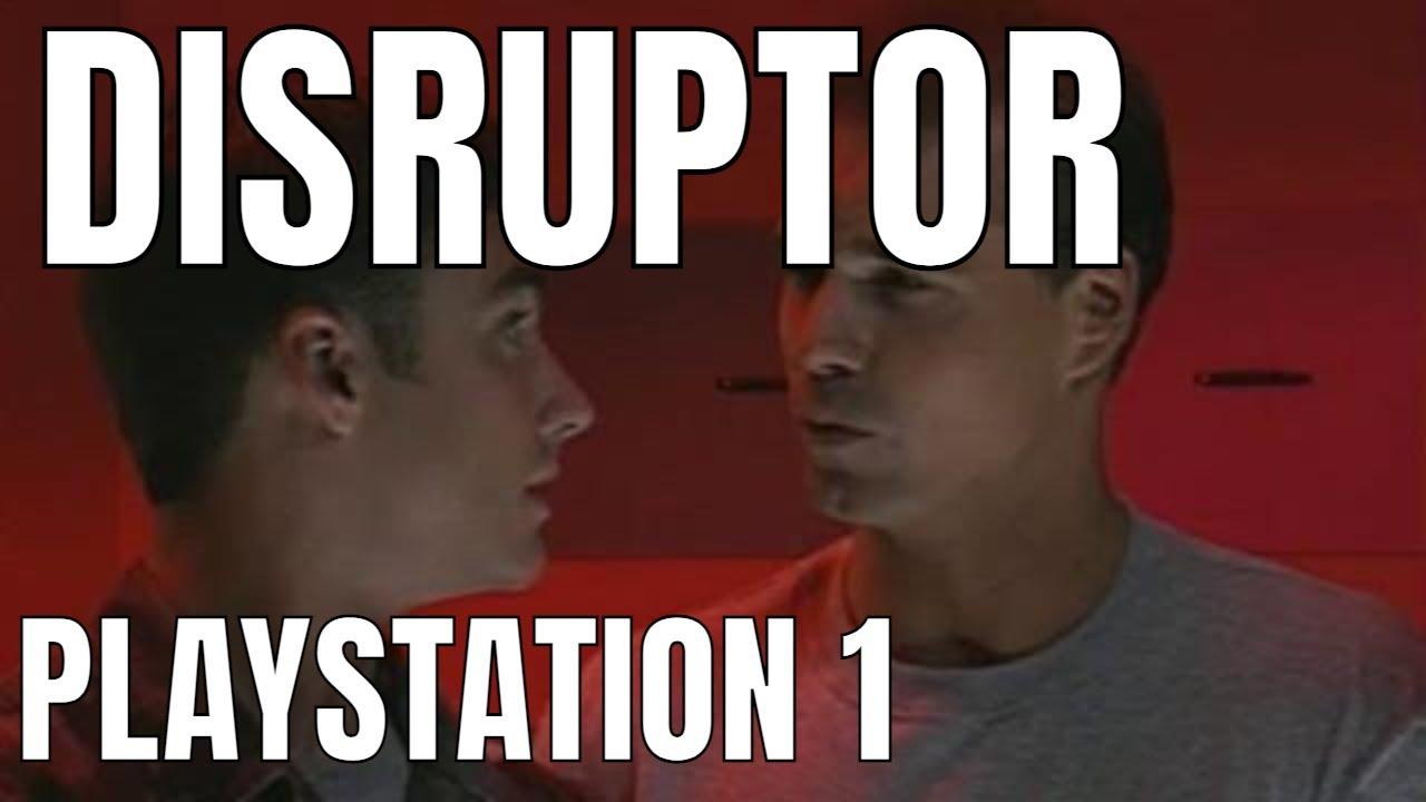 Disruptor Playstation 1 GERMAN