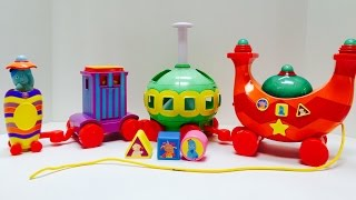 Stacking Musical Ninky Nonk Toy In The Night Garden