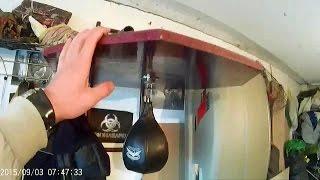 getlinkyoutube.com-Боксерская скоростная груша своими руками