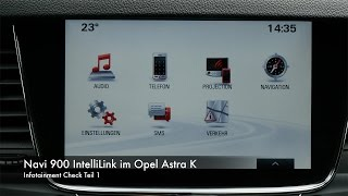 Infotainment Check Navi 900 Intellilink im Opel Astra