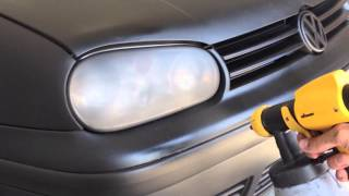 getlinkyoutube.com-Black PlastiDip - Volkswagen Golf