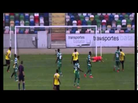 Índio(Beira-Mar) scores a perfect free-kick