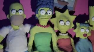 Família Simpsons MORRENDO!!!  bizarro