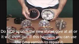 getlinkyoutube.com-How to build your own permanent magnet alternator pma  diy Missouri wind and Solar