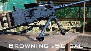 getlinkyoutube.com-Browning .50 cal Paintball Machine Gun