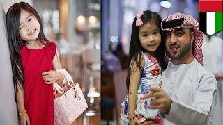 getlinkyoutube.com-5-летняя корейская девочка стала суперзвездой Арабских Эмиратов