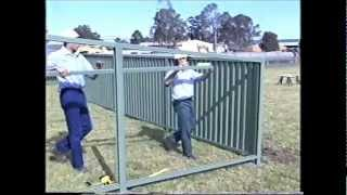 getlinkyoutube.com-Fence Installation