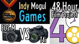 Indy Mogul Games! A 48-Hour Film, & Canon EOS-M vs. T4i : Indy News