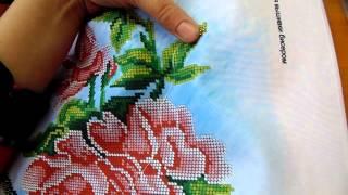 getlinkyoutube.com-Вышивка бисером.Один из способов