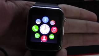 getlinkyoutube.com-Smart watch SW 08 review