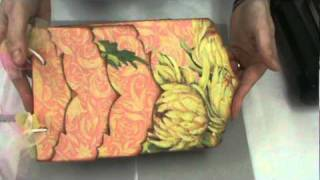 """getlinkyoutube.com-How Scrapbooking Made Simple uses Tim Holtz """"On the Edge"""" Alterations Dies by Sizzix"""