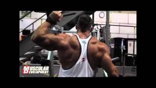 getlinkyoutube.com-Muscular Development Shoulder Training with Ryan Watson part 1