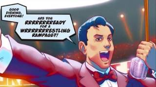 getlinkyoutube.com-Super Street Fighter Vol 2: Hyper Fighting Comic - R. Mika vs Posion/Hugo