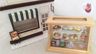 getlinkyoutube.com-DIY: Miniature cake house & bakery