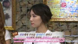 Kim Taeyeon SNSD doesn't want her Child to become a Singer