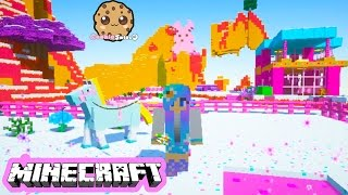 getlinkyoutube.com-Cookieswirlc Minecraft Game Play Sugar World Animals Baby Elephant Ponies Let's Play Gaming Video