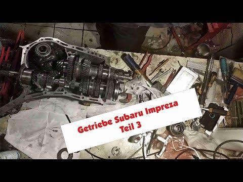 Getriebe Subaru Teil 3