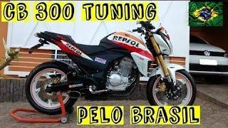 getlinkyoutube.com-Cb 300 Tuning Pelo Brasil 01 - Cb 300R Repsol
