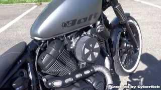 getlinkyoutube.com-Yamaha XV950 R Bolt 2014 Custom