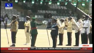 getlinkyoutube.com-Nigeria 2015 President Muhammadu Buhari Swearing-in Parade -- Part 2 --29/05/15