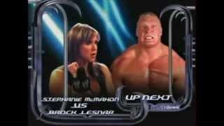 getlinkyoutube.com-Brock Lesnar vs Stephanie Mcmahon