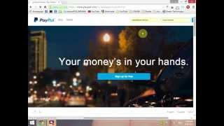 getlinkyoutube.com-PayPal - Kako da povezete,potvrdite i prebacite novac na karticu ( DETALJNO )