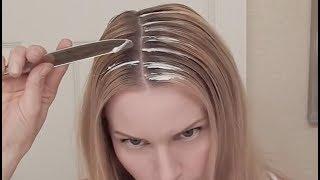 getlinkyoutube.com-DIY HIGHLIGHTS WITH A KNIFE - WHAT? No Foil Tutorial | skip2mylou