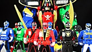 getlinkyoutube.com-Legendary Megazord, Morpher, Ranger Key Review! (Power Rangers Super Megaforce)