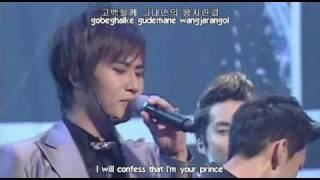 getlinkyoutube.com-ROM/HAN/ENG; SS501 Snow Prince live
