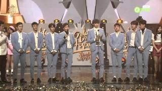 getlinkyoutube.com-160121 골든디스크 엑소 (EXO) 음반 대상 수상 Cut @ Golden Disk Awards 2016