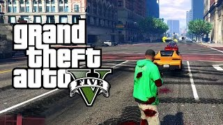 getlinkyoutube.com-GTA V Mods: Vehicle Cannon Mod! Shoot Cars from your Gun!