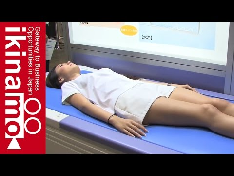 A water bed that can be utilized in medical facilities and nursing care welfare facilities