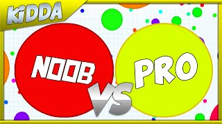 getlinkyoutube.com-NOOB vs PRO - AGAR.IO