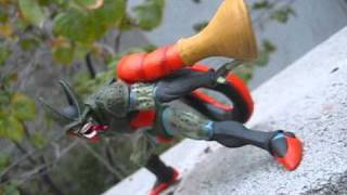 getlinkyoutube.com-DRAGON BALL KAI: DX CREATURES 4  CELL SECOND FORM & ANDROID NO. 18 BY BANPRESTO