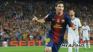 getlinkyoutube.com-Lionel Messi All 21 Goals & 13 Assists Vs Real Madrid