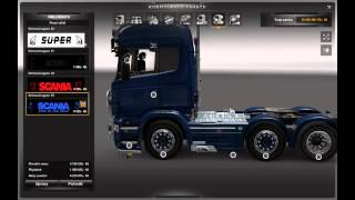 getlinkyoutube.com-Euro Truck SImulator 2 Scania V8 Tuning 3.0