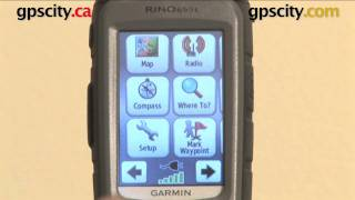 getlinkyoutube.com-Garmin Rino 610 650 655t: Map Page Setup @ gpscity.com