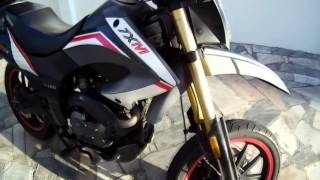 getlinkyoutube.com-Review Keeway TX 125 Supermoto (pt)